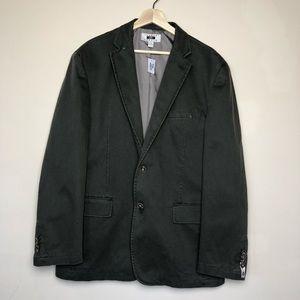 Joseph Abboud Green Twill Cotton Sport Jacket XXL